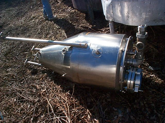 40 gallon vertical, Jacketed Stainless Steel Tank