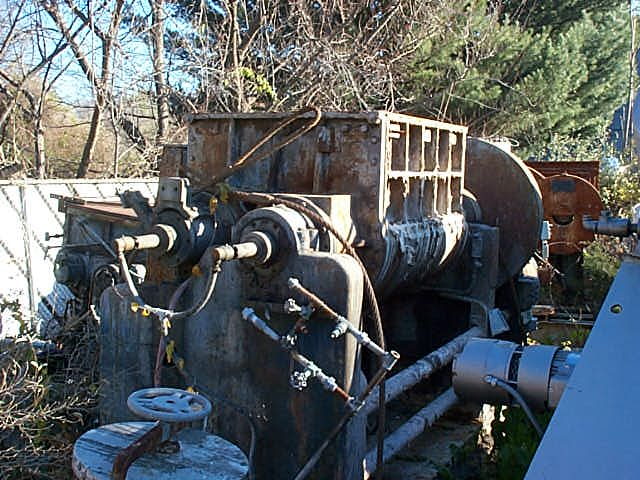 150 Gallon J.H. Day Imperial Sigma Blade Mixer, Carbon Steel