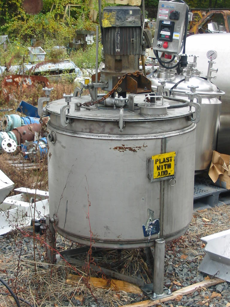 5 Hp. Arde Barinco Model C1 Jacketed Tank Mounted Mixer/Emulsifier