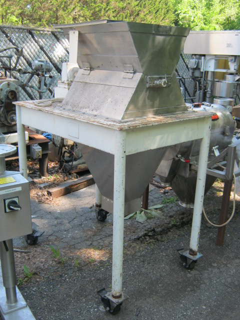 8 x 24 Day Rotary Brush Sifter, S/S