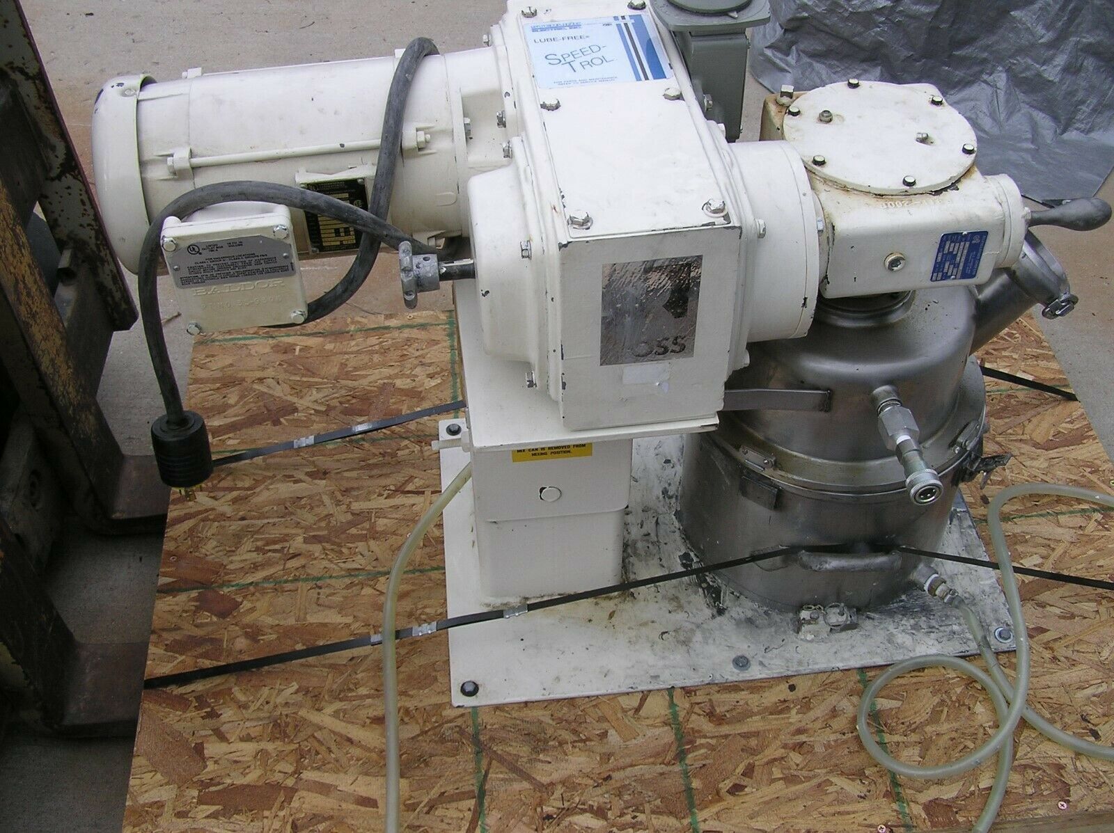 2 Gallon Ross Double Planetary Mixer, Jacketed, Vacuum, S/S